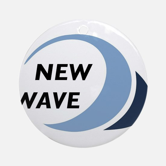 New Wave Round Ornament