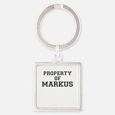 Property of MARKUS Keychains