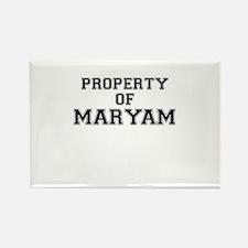 Property of MARYAM Magnets