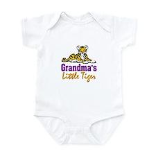 Grandma's Little Tiger Infant Bodysuit