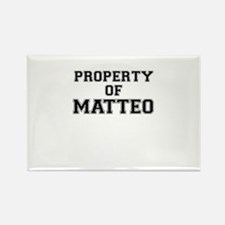 Property of MATTEO Magnets