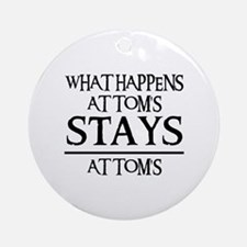 STAY'S AT TOM'S Ornament (Round)