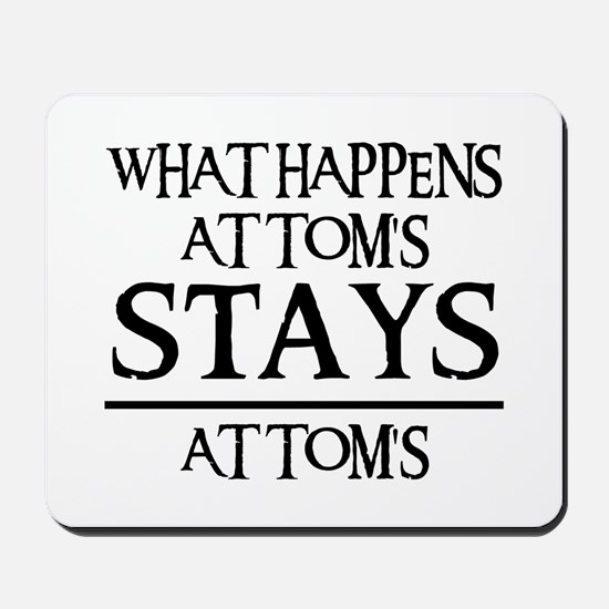 STAY'S AT TOM'S Mousepad