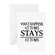 STAY'S AT TOM'S Greeting Card