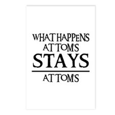 STAY'S AT TOM'S Postcards (Package of 8)