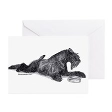Kerry with Bowl Greeting Cards (Pk of 20)