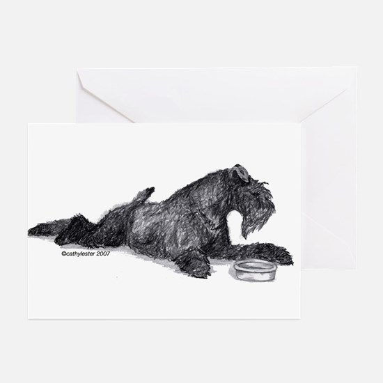 Kerry with Bowl Greeting Cards (Pk of 10)