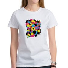 Print dots (CMYK) (03. abstract) Tee