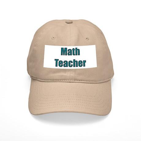 Math Teacher Cap