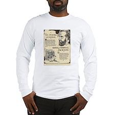 Stonewall Jackson Mini Biography Long Sleeve T-Shi