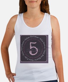 Unique Protestantism Women's Tank Top