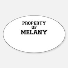 Property of MELANY Decal