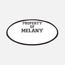Property of MELANY Patch