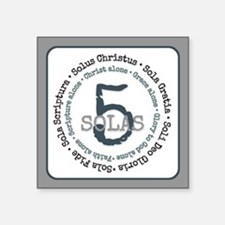 5 Solas of the Reformaion Sticker