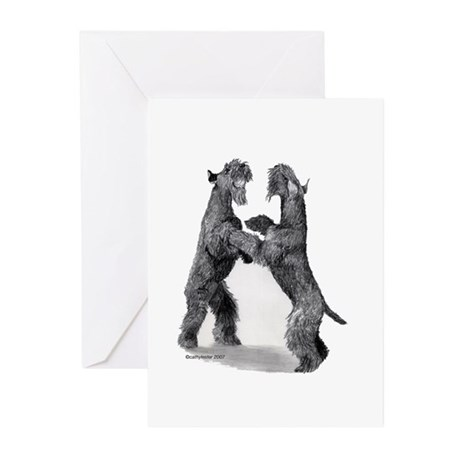 Kerries with Ball Greeting Cards (Pk of 10)