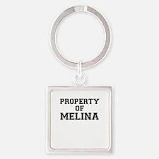 Property of MELINA Keychains