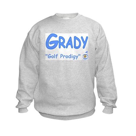 "Grady ""Golf Prodigy"" Kids Sweatshirt"