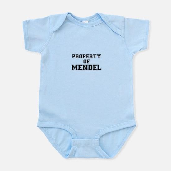 Property of MENDEL Body Suit