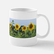 Sunny Sunflower Row Mug