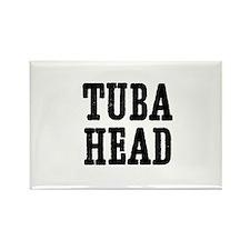 Tuba head Rectangle Magnet