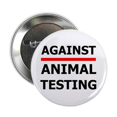 """Against Testing by Leah 2.25"""" Button (10 pack)"""