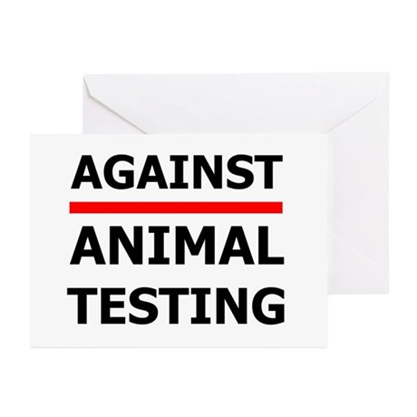 Against Testing by Leah Greeting Cards (Package of
