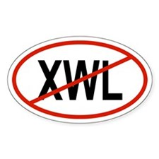 XWL Oval Decal
