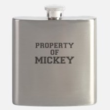 Property of MICKEY Flask