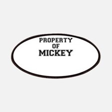 Property of MICKEY Patch