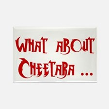 What About Cheetara Rectangle Magnet