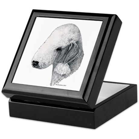 Bedlington terrier Keepsake Box