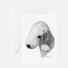 Bedlington terrier Greeting Cards (Pk of 20)