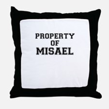 Property of MISAEL Throw Pillow