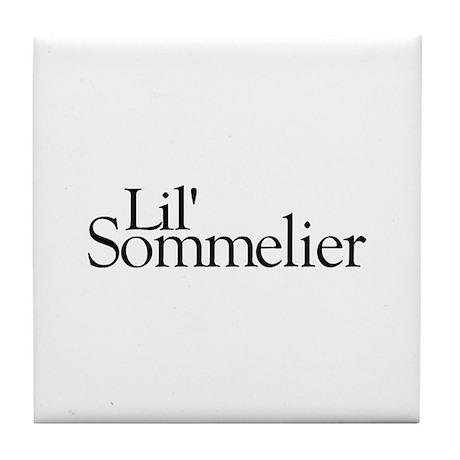 Lil' Sommelier Tile Coaster