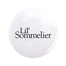 """Lil' Sommelier 3.5"""" Button (100 pack)"""
