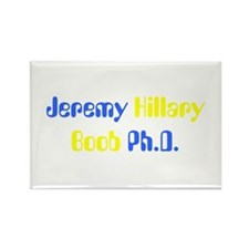 Jeremy Hillary Boob Ph.D. Rectangle Magnet