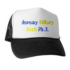 Jeremy Hillary Boob Ph.D. Trucker Hat