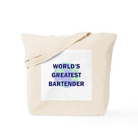 World's Greatest Bartender Tote Bag
