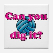Can you dig it? Tile Coaster