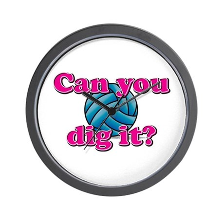 Can you dig it? Wall Clock