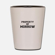Property of MORROW Shot Glass