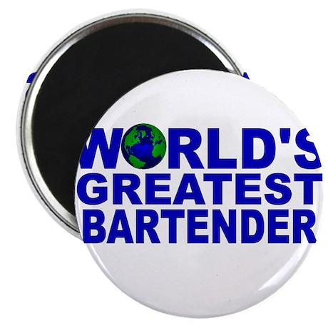 """World's Greatest Bartender 2.25"""" Magnet (10 pack)"""