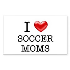 Soccer Moms by Leah Rectangle Decal