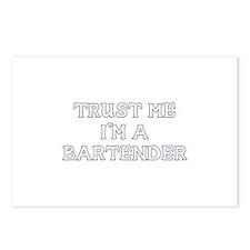 Trust Me I'm a Bartender Postcards (Package of 8)