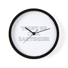 Trust Me I'm a Bartender Wall Clock
