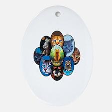 Unique Hunter Oval Ornament