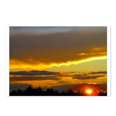 Sunset Sky Postcards (Package of 8)