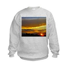 Sunset Sky Kids Sweatshirt