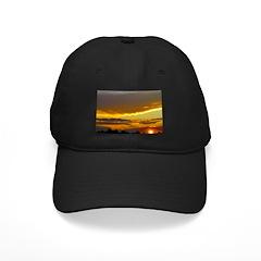 Sunset Sky Black Cap
