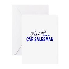 Trust Me I'm a Car Salesman Greeting Cards (Pk of